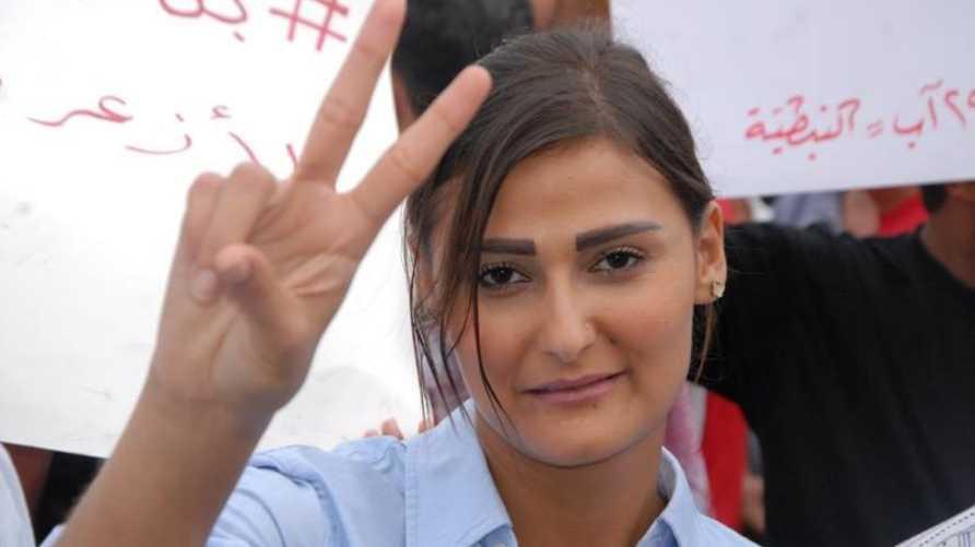 الناشطة اللبنانية نعمت بدر الدين