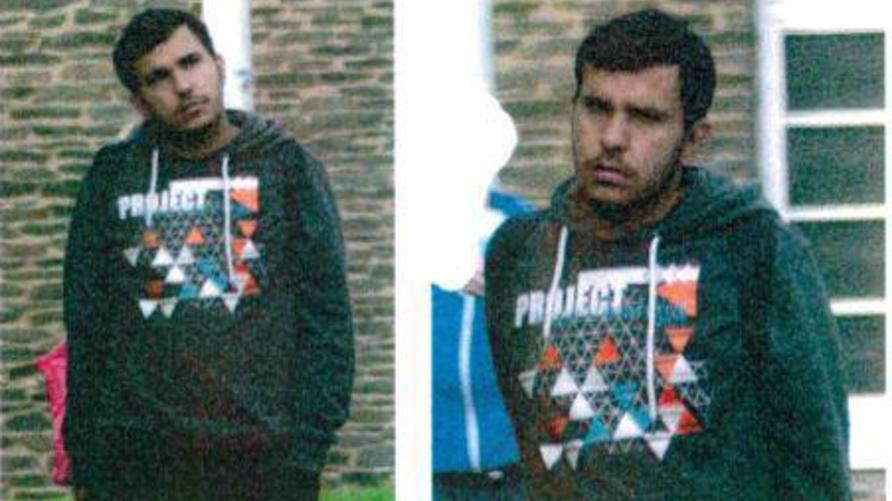 صورة تداولها ناشطون ألمان على تويتر ووسائل إعلام قالوا إنها للمشتبه به جابر البكر