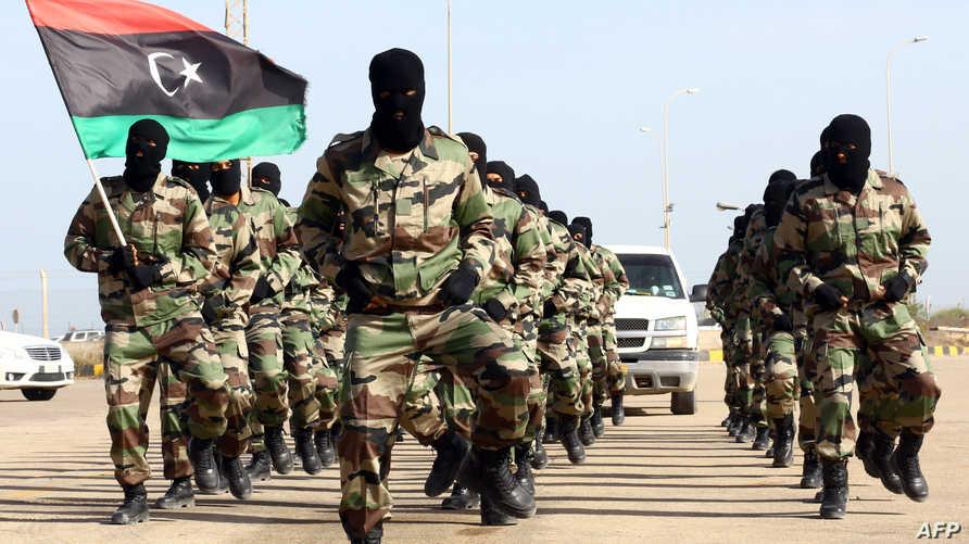 عناصر من الجيش الليبي -أرشيف