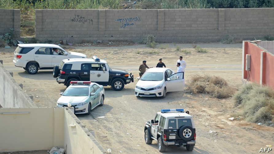 سيارات للأمن السعودي