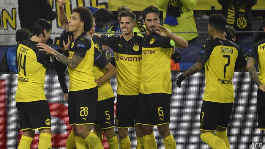 قفز دورتموند إلى الرتبة الثانية في مجموعته خلف برشلونة