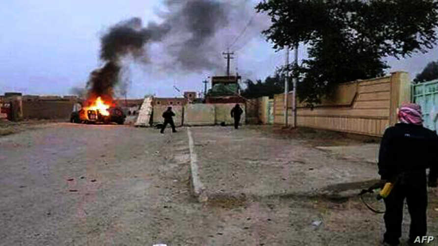 أحد شوارع الموصل عقب سيطرة داعش على المدينة