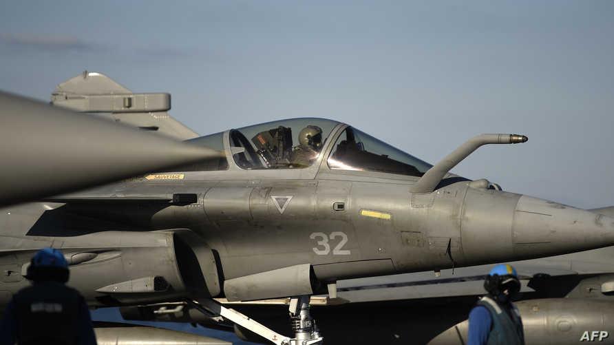جانب من طائرات التحالف ضد داعش