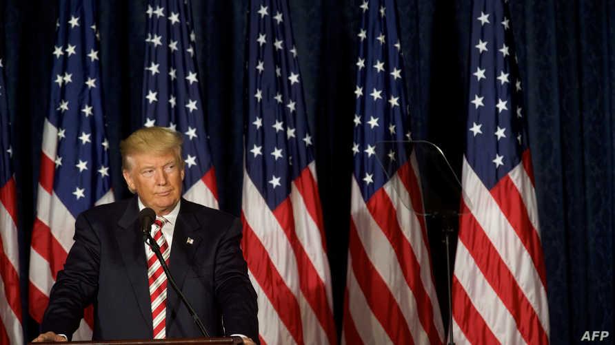 المرشح الجمهوري لانتخابات الرئاسة الأميركية دونالد ترامب