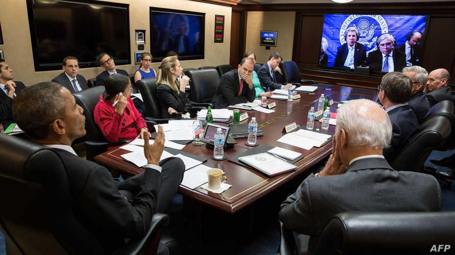 اجتماع سابق للإدارة الأميركية لتتبع محادثات لوزان حول البرنامج النووي الإيراني