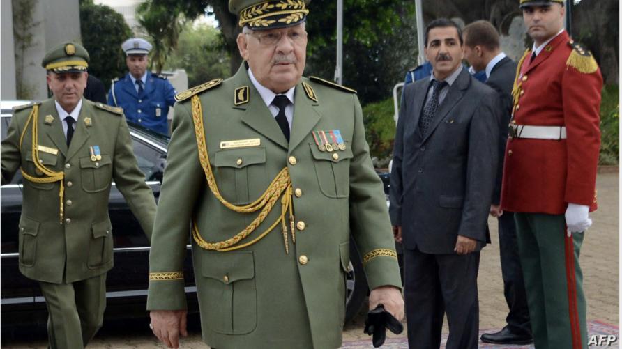 قائد هيئة أركان الجيش الجزائري الفريق أحمد قايد صالح