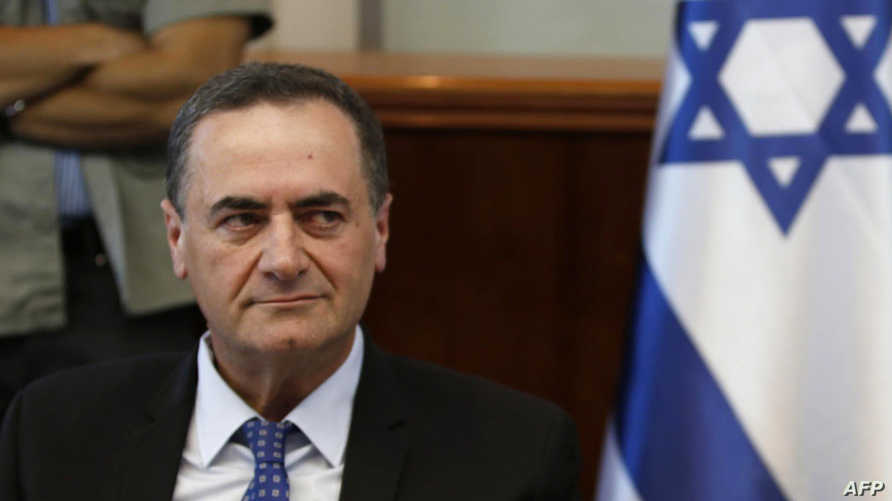 وزير الاستخبارات والنقل الإسرائيلي إسرائيل كاتس - أرشيف