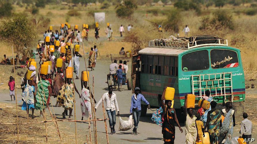 فارون من الحرب في جنوب السودان