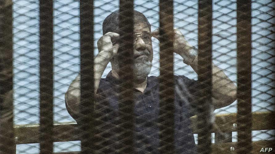 مرسي وراء القضبان