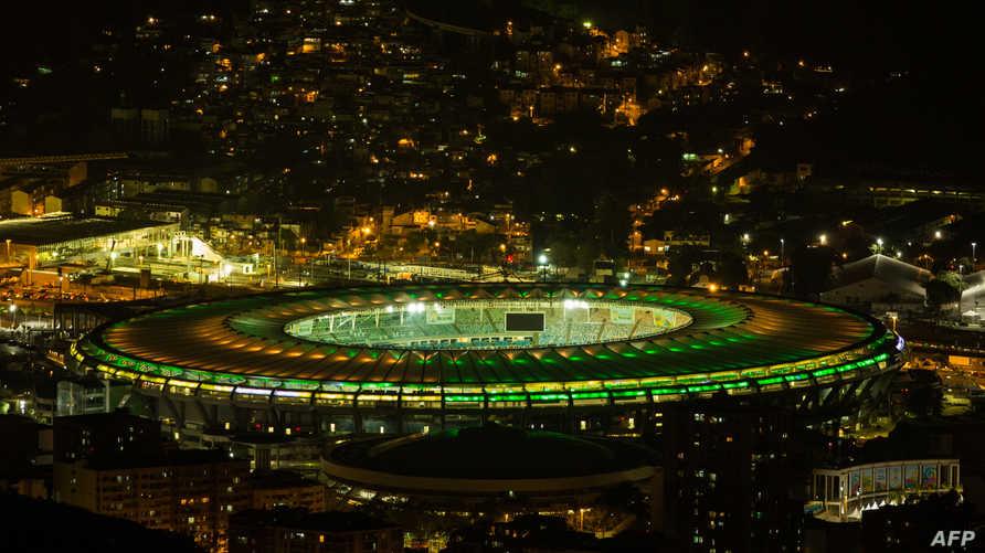 ملعب ماركانا في ريو دي جانيرو في البرازيل