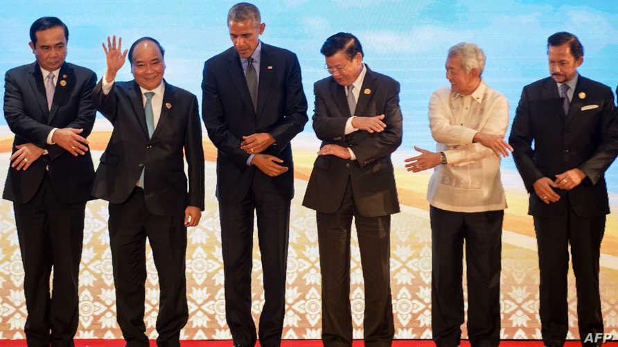 أوباما مع قادة بعض الدول الآسيوية -أرشيف