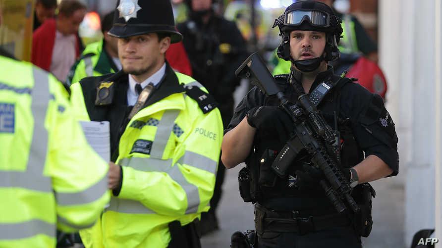 عناصر من الشرطة البريطانية -أرشيف