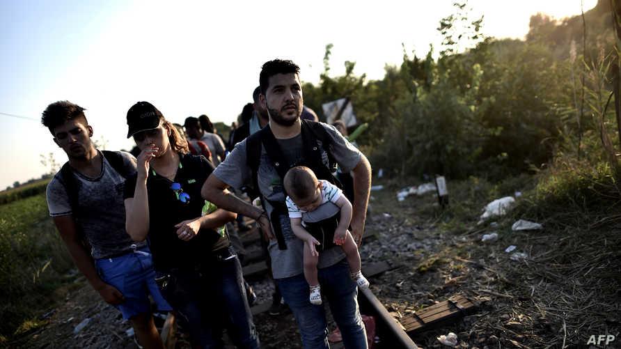 لاجئون عراقيون في أوروبا