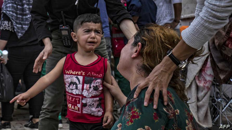 القصف أوقع ضحايا من الأطفال