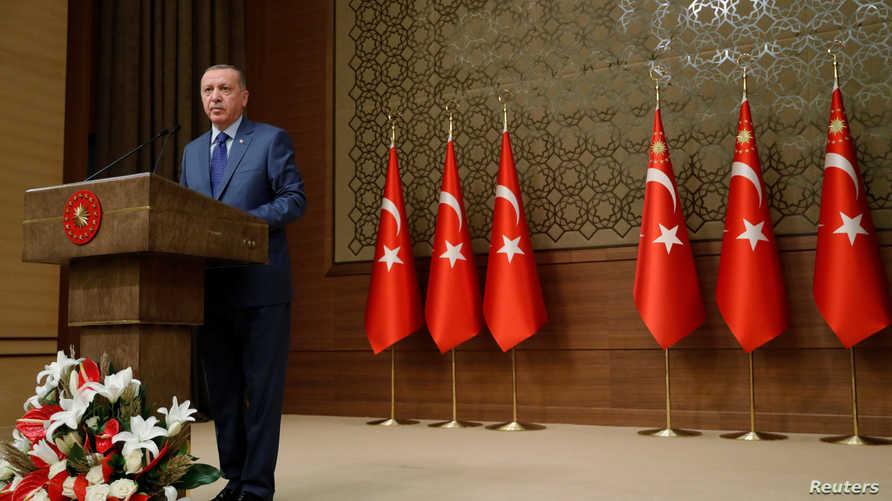 أردوغان يصر على إقامة منطقة خالية من الأكراد شمالي سوريا