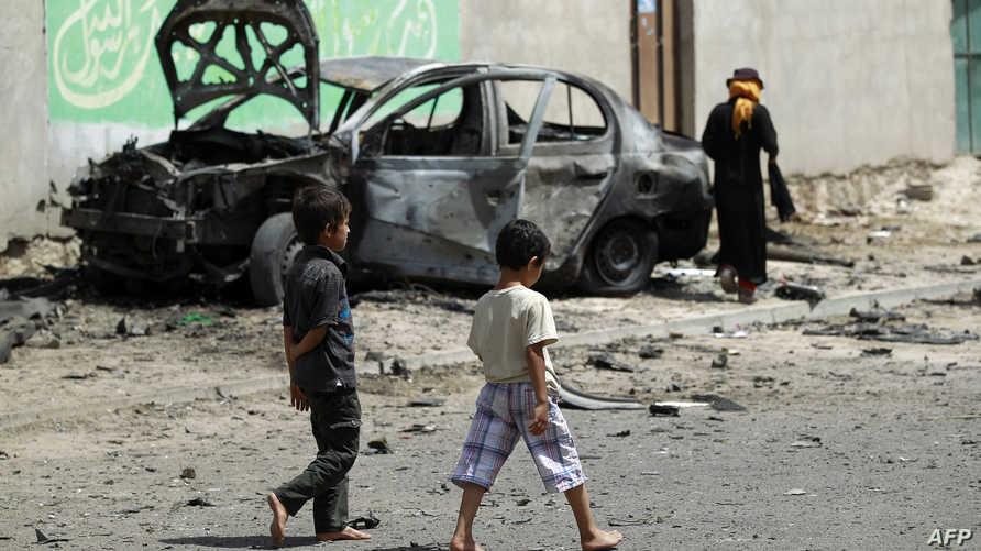 الأطفال ضحايا الأزمة في اليمن