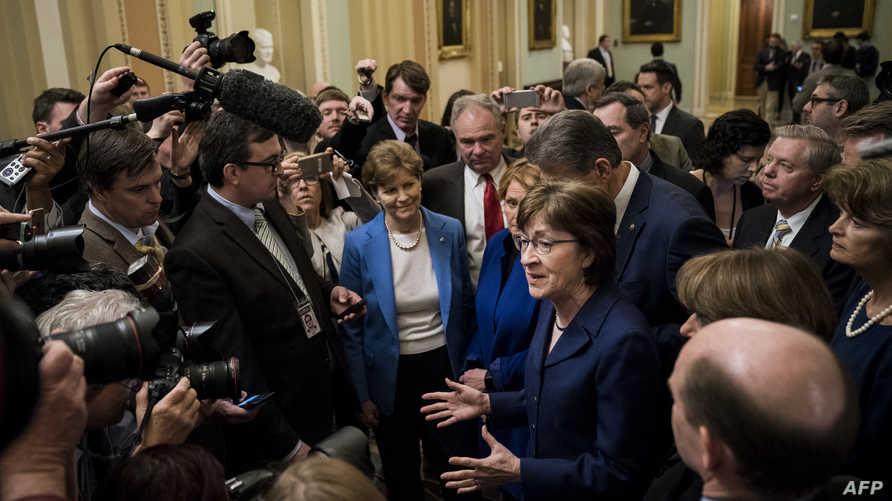 أعضاء بمجلس الشيوخ الأميركي