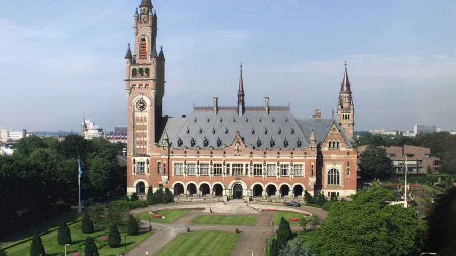 قصر السلام حيث مقر محكمة العدل الدولية في لاهاي