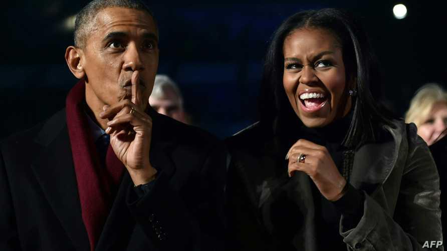 الرئيس أوباما والسيدة الأولى