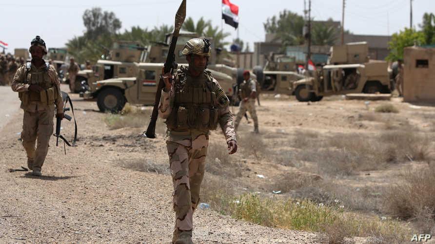 قوات عراقية في قضاء الكرمة- أرشيف