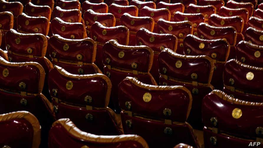 قاعة للعرض السينمائي في فرنسا -أرشيف