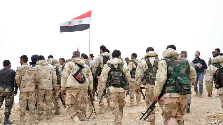 قوات سورية في تدمر