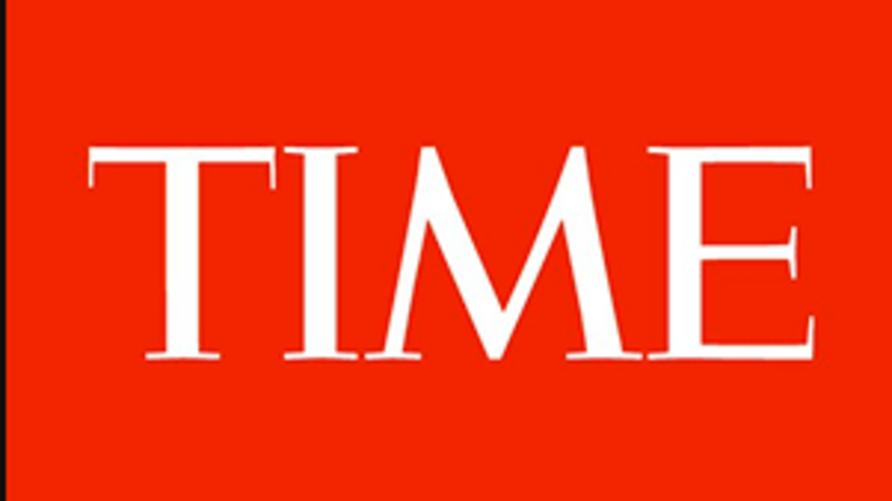 شعار مجلة التايم