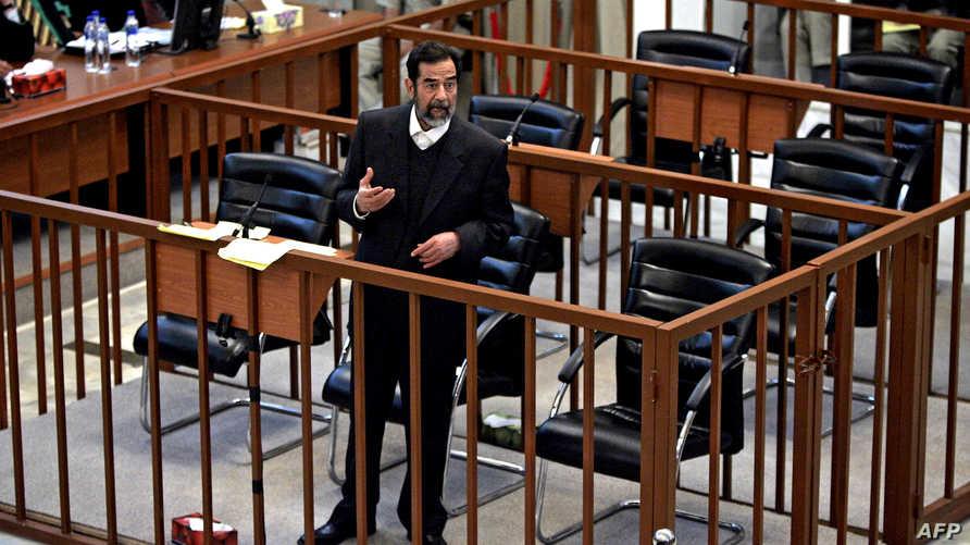 محاكمة الرئيس العراقي السابق صدام حسين