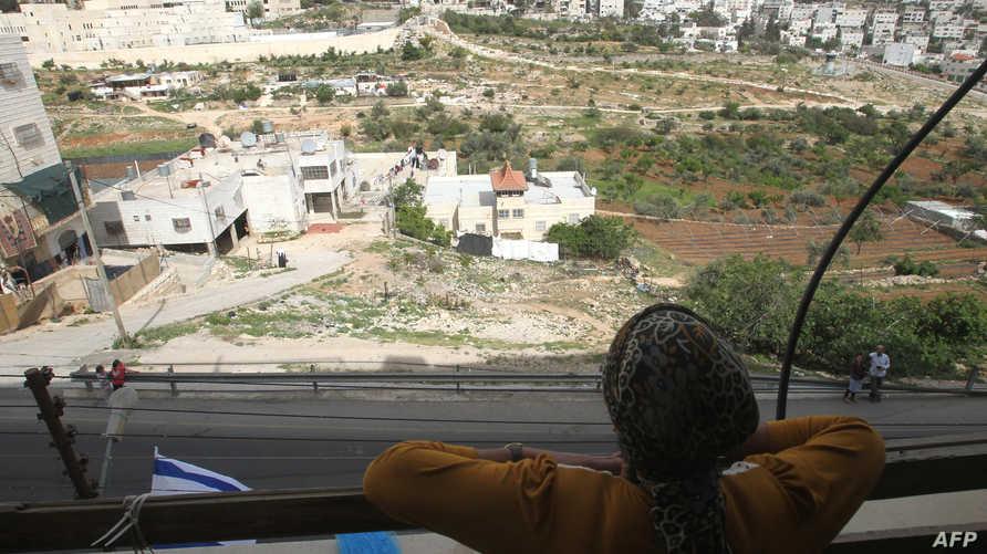مستوطنة اسرائيلية في الضفة الغربية. أرشيف