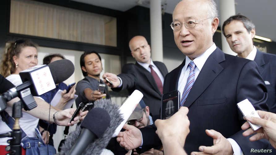 المدير العام للوكالة الدولية للطاقة الذرية يوكيا أمانو