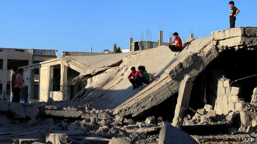مخلفات الحرب في درعا