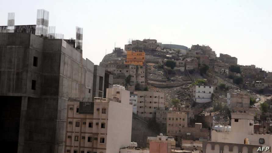 حي جبل عمر في مدينة مكة بالسعودية