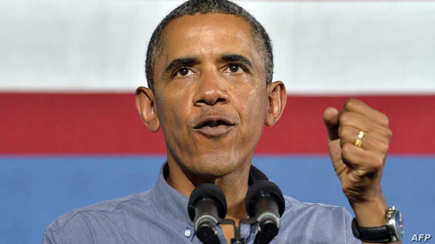 الرئيس باراك أوباما خلال خطاب خصصه لملف التعليم الخميس