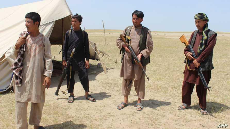 مقاتلون من حركة طالبان في قندوز - أرشيف