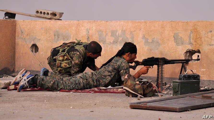 مقاتلون أكراد في الحسكة - أكراد