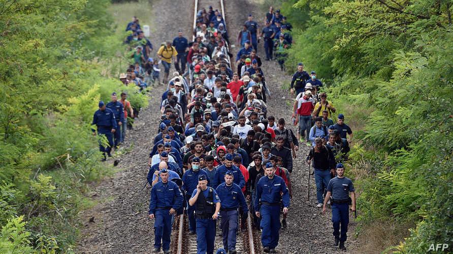 لاجئون من الشرق الأوسط في أوروبا