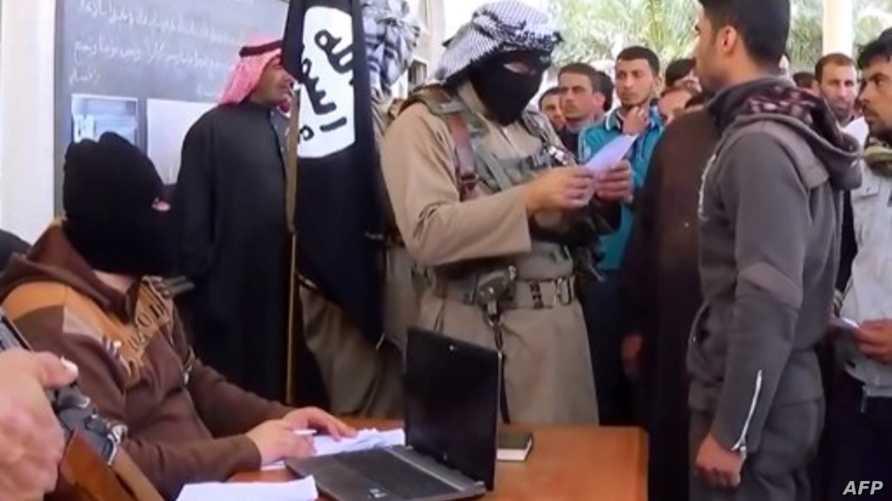 قادة من داعش يجندون متطوعين في العراق