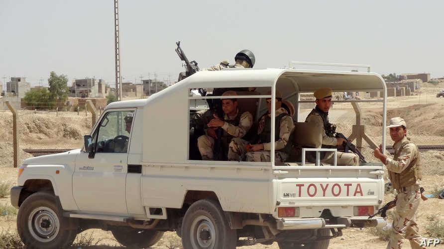 قوات كردية قرب كركوك-أرشيف
