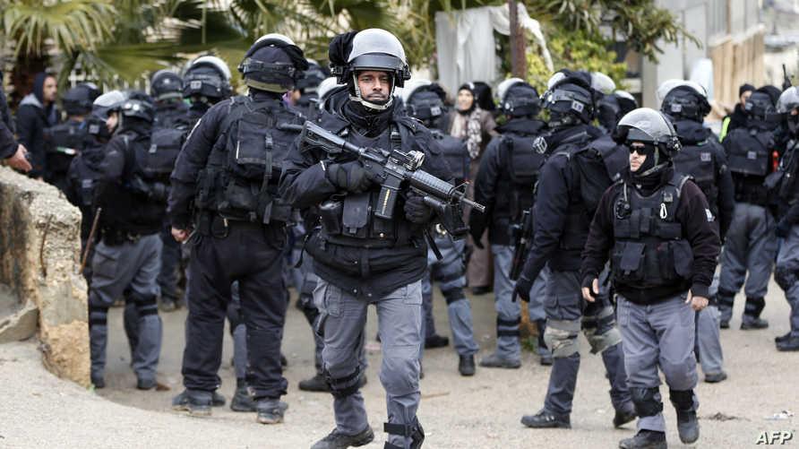 قوات إسرائيلية في القدس الشرقية