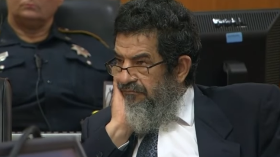 علي عرسان في المحكمة