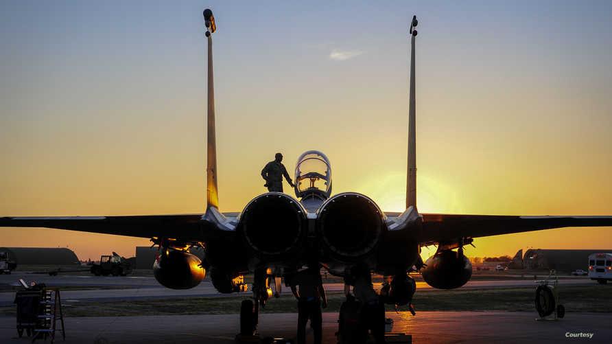 مقاتلة أميركية في قاعدة إنجرليك في تركيا