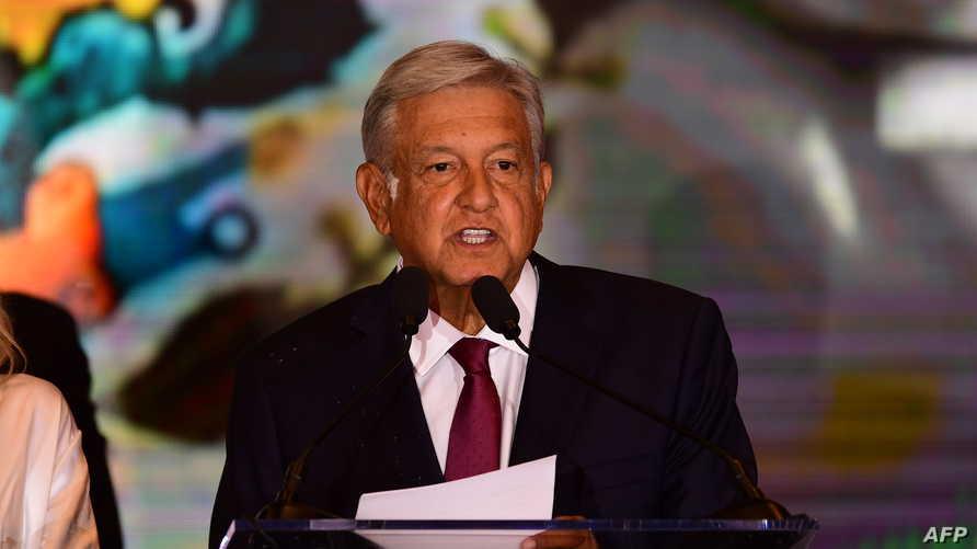 الرئيس المكسيكي المنتخب أندريس مانويل لوبيز أوبرادور