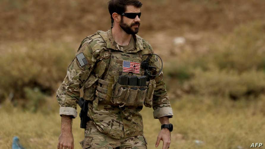 جندي أميركي في شمال سوريا