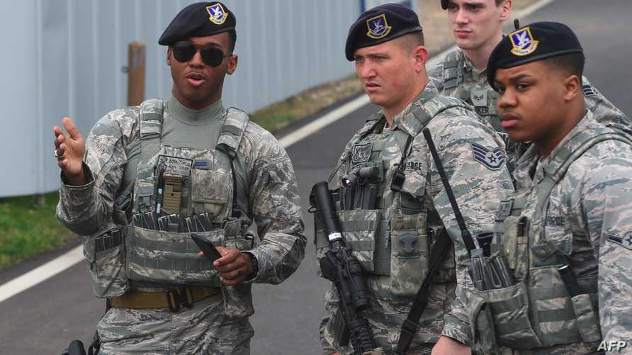 جنود أميركيون في تدريب مشترك مع كوريا الجنوبية