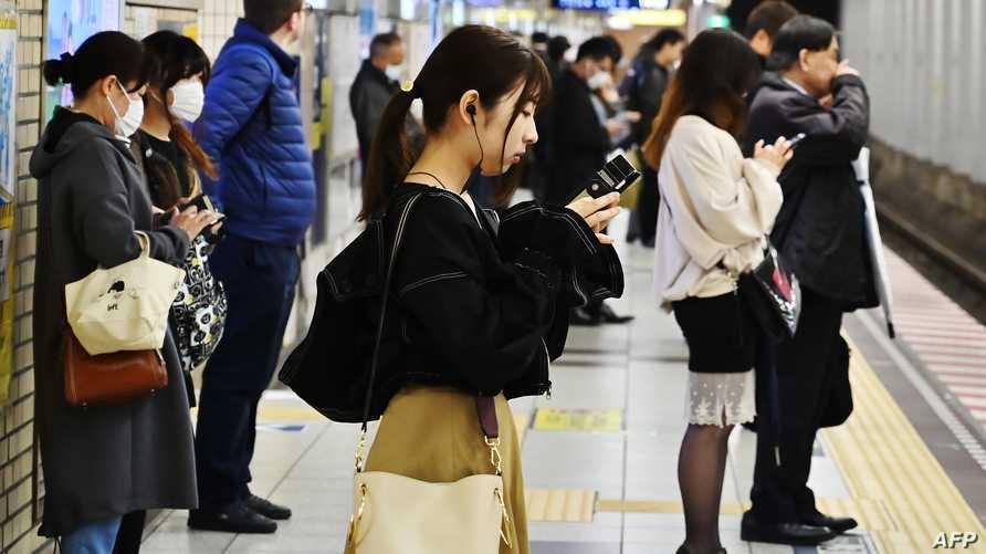 محطة قطارات في اليابان