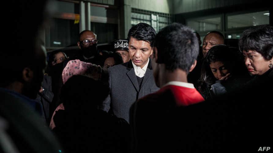 رئيس مدغشقر أندري راجولينا يقدم تعازيه لأسر الضحايا