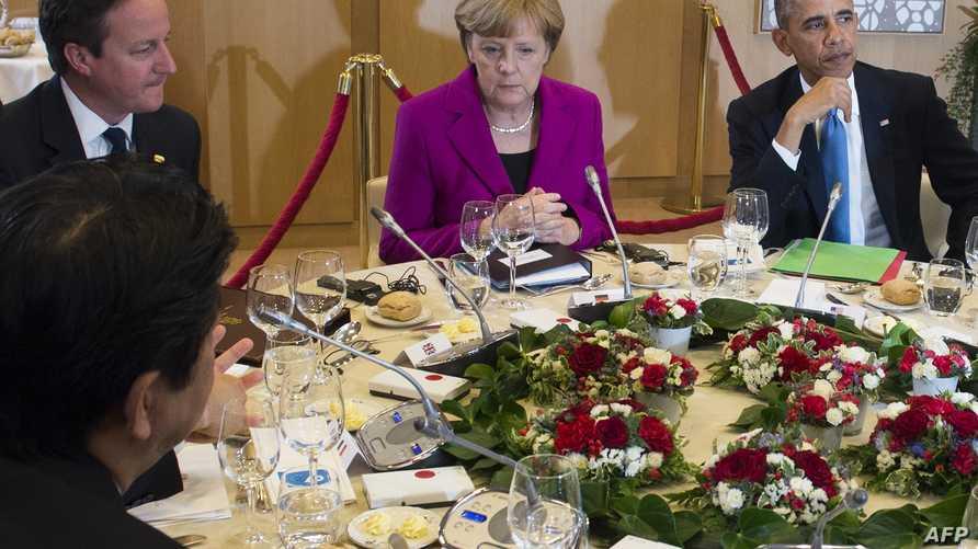قادة مجموعة الدول الصناعية الكبرى السبع