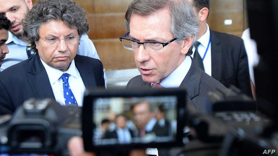 المبعوث الدولي إلى ليبيا برناردينو ليون
