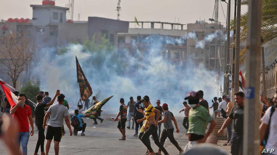 مواجهات خلال المظاهرات المنددة بالفساد