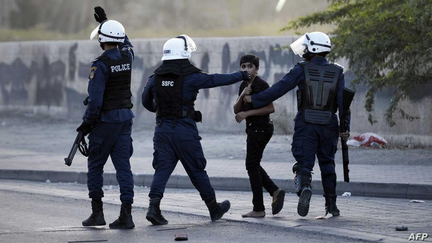 عناصر من الشرطة البحرينية -أرشيف